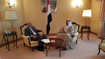 وزير الخارجية اليمني يمارس أول مهمة منذ توليه منصبه