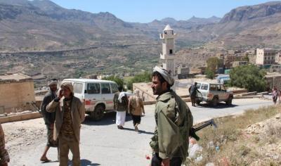 إدارات الأمن في مرمى النيران :  مقاومة إب تستهدف إدارة أمن رحاب  ونقطتين لجماعة الحوثي