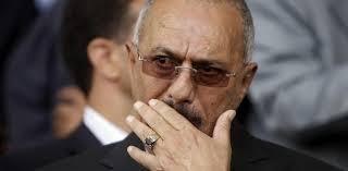 """الرئيس السابق """" صالح """" يقول أن لا علاقة له بالمواجهات الدائرة في بعض المحافظات ويصف الرئيس هادي بـ """" الفار"""" ويهاجم السعودية"""
