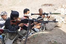 إصابة الشيخ المخلافي في إشتباكات مع الحوثيين والقوات الموالية لهم بتعز