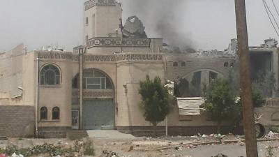 معلومات جديدة عن الغارات الجوية التي إستهدفت منازل ومواقع بالعاصمة صنعاء ظهر اليوم