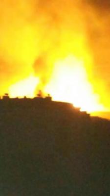 تفاصيل - أسماء المواقع التي تم إستهدافها منتصف الليلة الماضية والتي وصفت بالأعنف على صنعاء