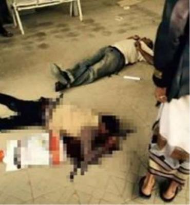 تفاصيل مقتل 2 من المواطنين وجرح آخرين في مبنى الجوازات بصنعاء على أيدي مسلحين حوثيين( صورة)