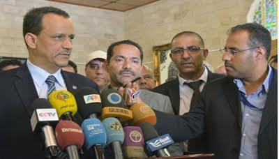 تصريح هام للمبعوث الأممي ولد الشيخ قبل مغادرته صنعاء يكشف موعد الهدنة الإنسانية في اليمن