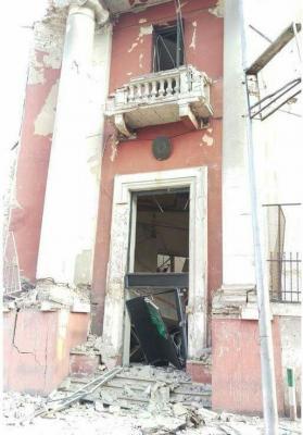 انفجار في محيط القنصلية الإيطالية في القاهرة