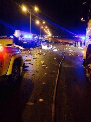 معلومات جديدة عن السيارة المفخخة التي إنفجرت اليوم بالعاصمة السعودية الرياض ( صور)