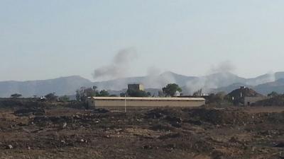 غارات جوية إستهدفت أحد المواقع بالعاصمة صنعاء منذ صباح اليوم الخميس