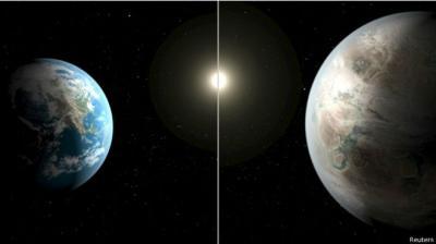ناسا تعلن عن اكتشاف كوكب شبيه بالارض ( صورة)