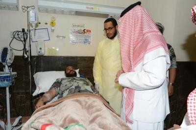 مقتل وإصابة 22 من منتسبي قوات الطوارئ في تفجير مسجد جنوب السعودية ( تفاصيل- صور)