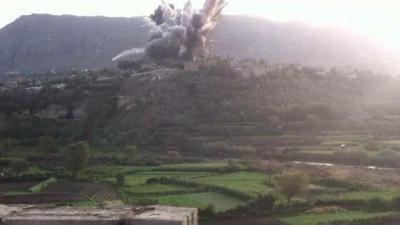 غارات جوية على مواقع للحوثيين وسط مدينة إب ( المواقع المستهدفة)