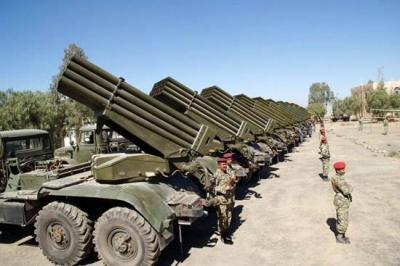 صحيفة تكشف عن ترسانة هائلة من الأسلحة يمتلكها الرئيس السابق صالح بمسقط رأسة غير مقيدة بسجلات وزارة الدفاع