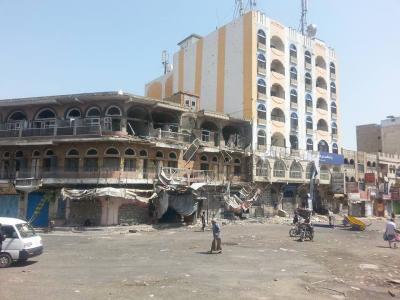 إرتفاع حصيلة القتلى والجرحى من المدنيين نتيجة قصف الحوثيين على مدينة تعز