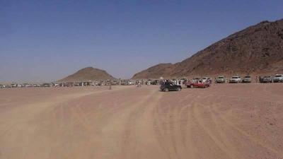 قبائل الجوف تحتشد لإستعادة المحافظة من الحوثيين وتنصب مطارح جديدة