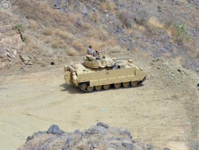 القوات السعودية تكشف عن طرق توغلها داخل الآراضي اليمنية