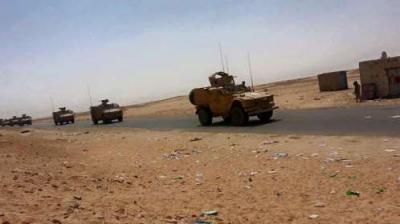 وصول الدفعة الثالثة من التعزيزات والآليات العسكرية إلى مأرب ( صورة - تفاصيل)