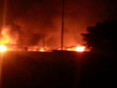 غارات جوية وانفجارات تهز العاصمة صنعاء ( المواقع المستهدف)