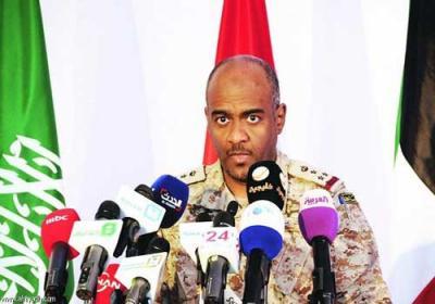 تصريح  لناطق التحالف العميد عسيري يكشف عدد القتلى من الجنود السعوديين بمنطقة صافر بمأرب