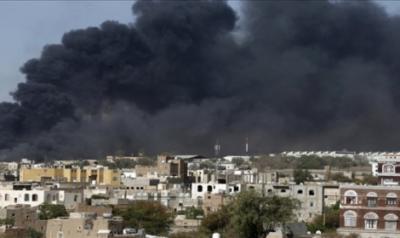 عاجل : اسماء المواقع التي استهدفها طيران التحالف قبل قليل