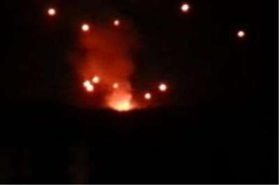 انفجارات عنيفة وتطاير للصواريخ والذخائر في احياء مختلفة من العاصمة صنعاء ( تحديث مستمر)