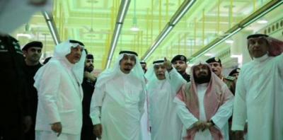 الملك سلمان يصل مكة للإطلاع على حادثة سقوط الرافعة على الحرم المكي ( صور)