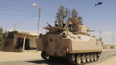 مقتل 12 شخصاً بينهم سياح في إطلاق نار بالخطأ على أيدي قوات الأمن والجيش المصرية