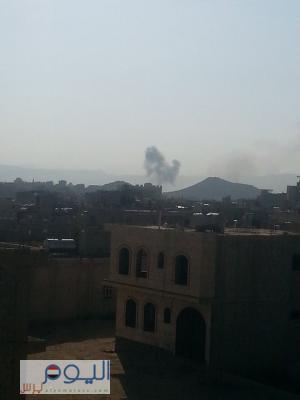 أسماء المواقع التي استهدفها طيران التحالف منذ صباح اليوم الخميس