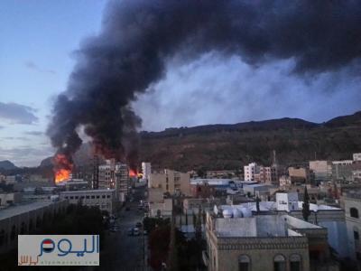 أسماء المواقع التي استهدفها طيران التحالف منذ فجر اليوم الجمعة ( صور )