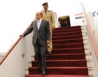 مصادر تكشف حقيقة وصول الرئيس هادي إلى عدن