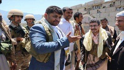 محمد علي الحوثي يظهر من تعز ( صورة)
