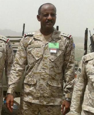 """من هو الضابط  السعودي العميد """" الحمزي """" الذي قُتل في مواجهات مع الحوثيين على الحدود اليمنية السعودية ( صورة - تفاصيل)"""