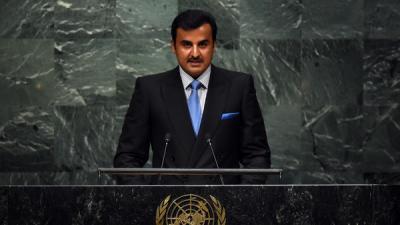 أمير قطر يغازل إيران ويكشف عن سبب الخلافات بين إيران ودول  الخليج