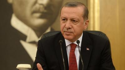 """الرئيس التركي """" أردوغان """" يقول إن روسيا ترتكب خطأ كبير في سوريا"""