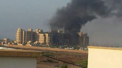 معلومات جديدة ومُفصلة عن حادثة إستهداف مقر الحكومة وتجمع القوات الإماراتية بعدن( صور)