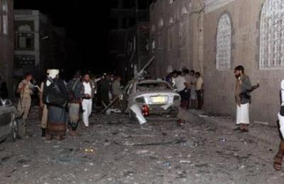 تفاصيل الإنفجار الذي استهدف أحد المساجد بالعاصمة صنعاء مساء اليوم