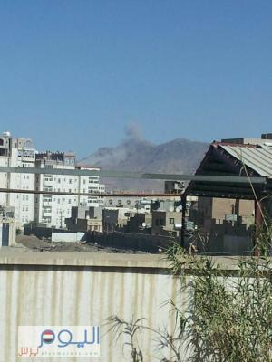 أسماء المواقع التي استهدفها طيران التحالف قبل قليل في العاصمة صنعاء( صورة)