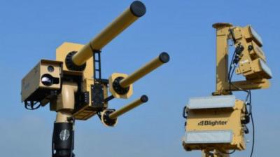 جهاز جديد يجمد الطائرات بدون طيار في السماء ( صورة)