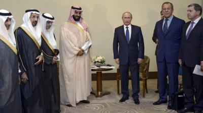 بوتين يبدأ سلسلة محادثات عربية على رأسها السعودية لشرح عمليات روسيا بسوريا - تفاصيل