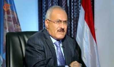 """الرئيس السابق """" صالح """" يقع في فخ التناقضات في لقاءة الذي أجرته معه قناة الميادين مساء اليوم - أهم النقاط"""