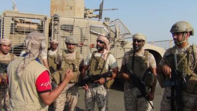 القوات الإماراتية تبدأ بمهمة جديدة في دعم المقاومة والجيش