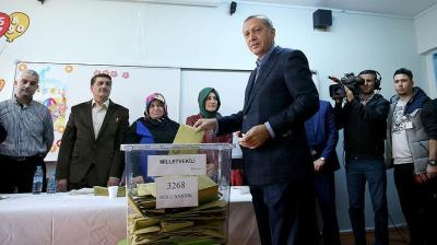 حزب أردوغان  يُخالف توقعات المراقبين ويسجل فوزاً كاسحاً في الإنتخابات البرلمانية