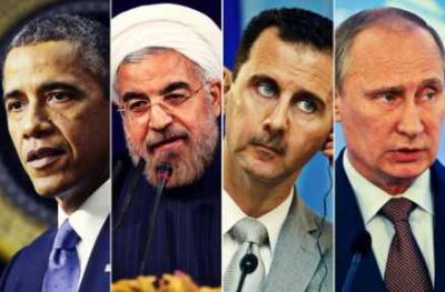"""شرخ يتسع بين روسيا وحليفيها الإيراني والسوري : هل هناك """"طبخة"""" أمريكية روسية سرية؟"""