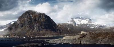 """بالصور - """" الفندق الأفعى"""" بالنرويج يُفتتح أول 2016"""