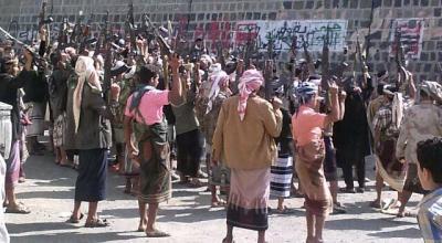قتلى وجرحى في مواجهات بين المقاومة والحوثيين بحزم العدين بمحافظة إب
