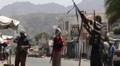 معارك عنيفة بين المقاومة والحوثيين بتعز والمقاومة تتقدم وتسيطر على مواقع هامه