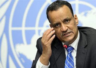 ولد الشيخ يصل طهران لبحث تطورات الأزمة اليمنية