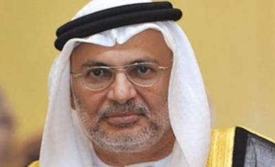 وزير إماراتي يُبشر بإقتراب النصر في تعز