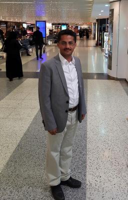 """سبب زيارة علي البخيتي لـ """" الرياض """""""