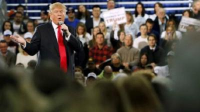 دونالد ترامب يتراجع في استطلاع رأي بولاية أيوا