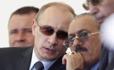 """كيف يحاول الرئيس السابق """" صالح """" جر روسيا إلى التدخل في اليمن ؟"""
