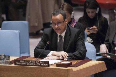 """أبرز ما قاله المبعوث الأممي """" ولد الشيخ """" في إحاطته أمام مجلس بشأن تطورات الأوضاع في اليمن"""